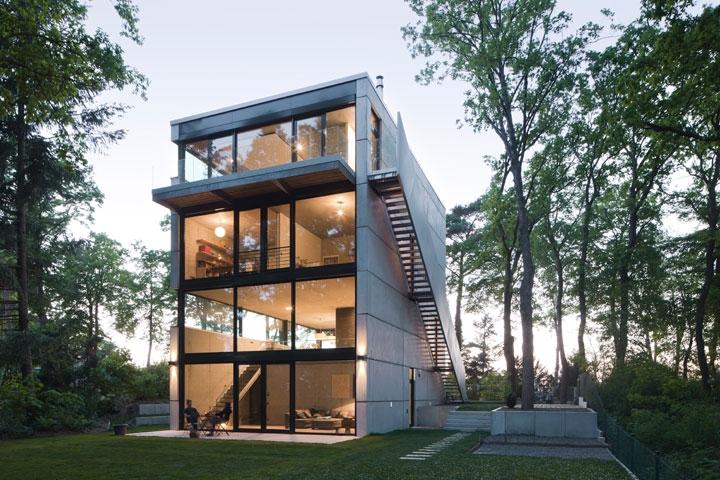 haus o peter ruge architekten. Black Bedroom Furniture Sets. Home Design Ideas